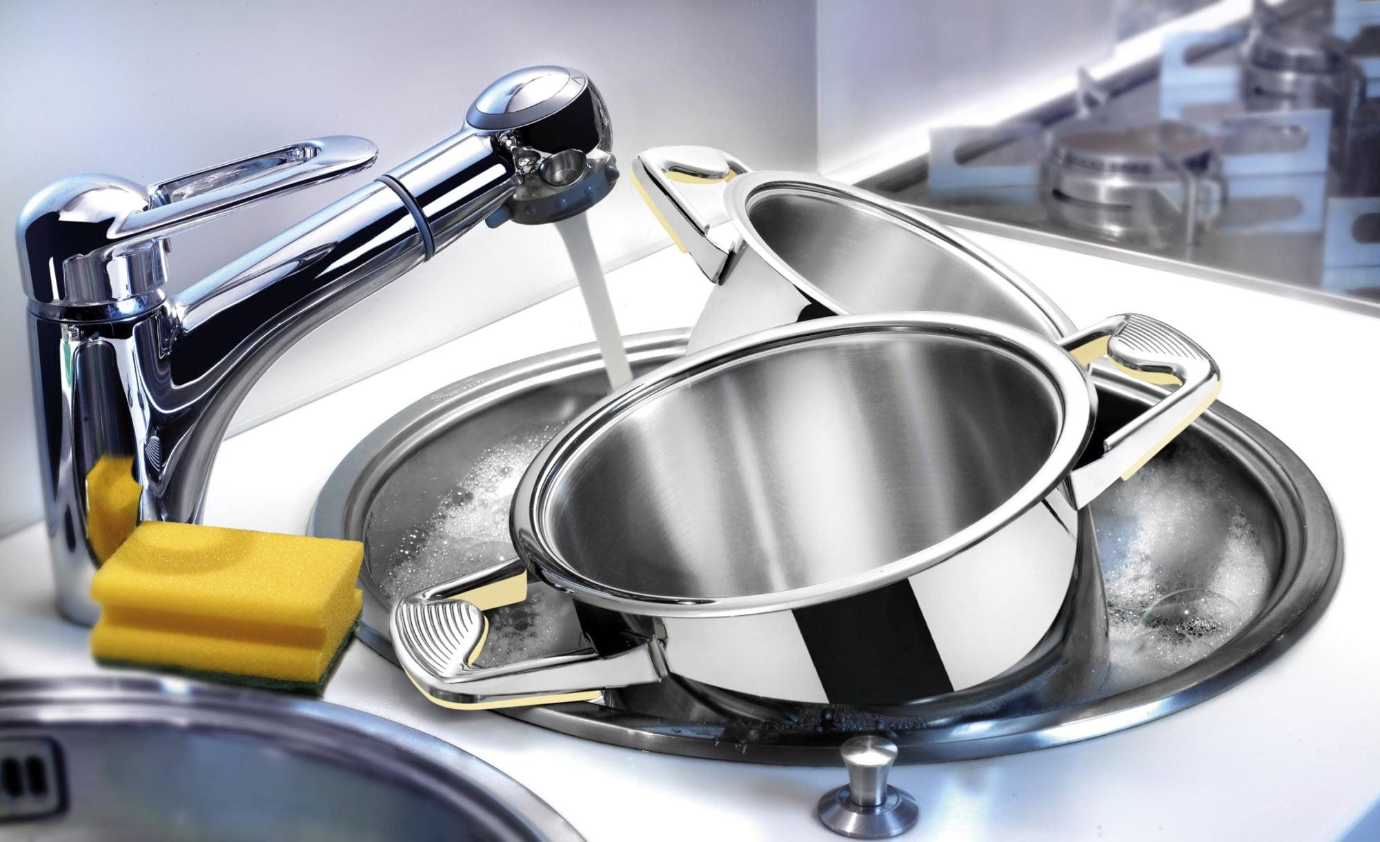 правила мытья кастрюль из разных материалов