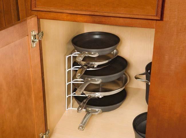 Место для сковородок