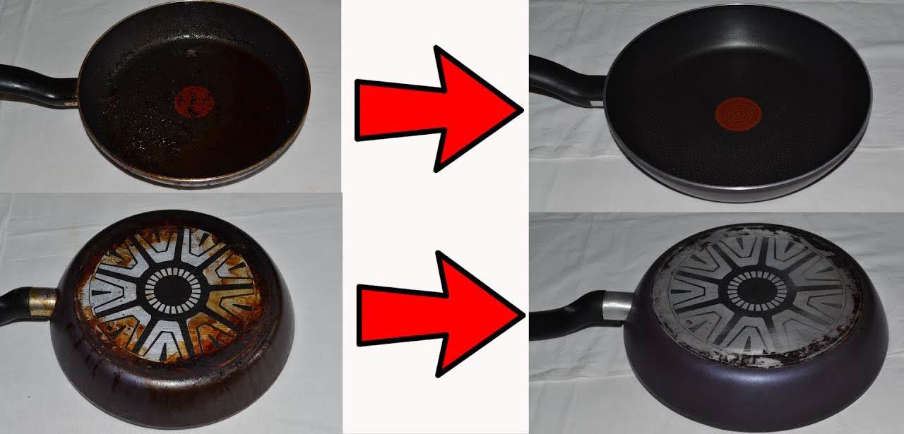 Способы чистки тефлоновой посуды