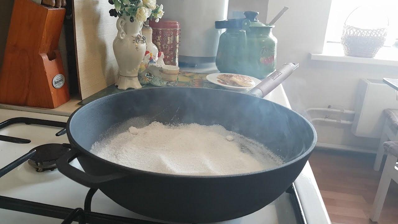 Сковорода чугунная уход и правила пользования