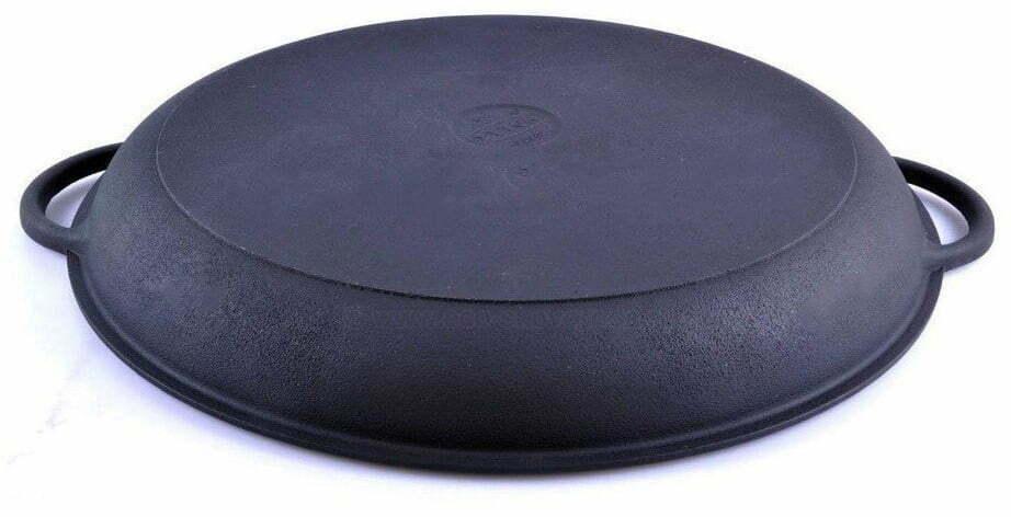 Чугунная крышка-сковорода 20 см Ситон купить недорого