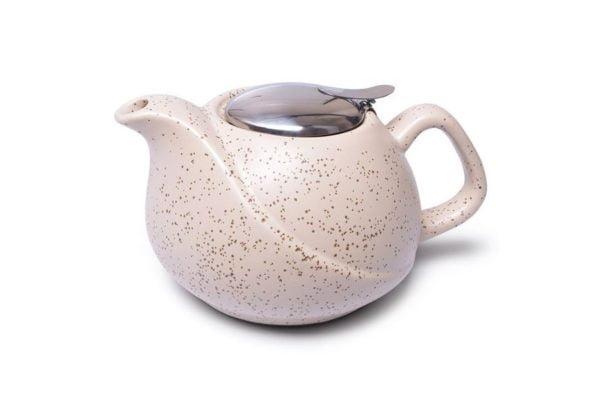Заварочный чайник 750 мл с ситечком Белый песок Fissman недорого