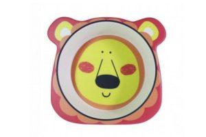 Тарелка детская Львенок 14х13 см глубокая Fissman заказать