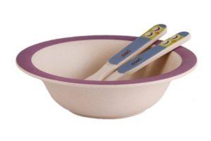 Бамбуковая посуда для детей 3 предмета Фиссман купить онлайн