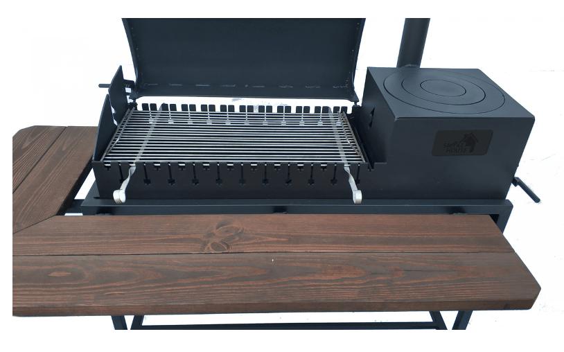 Мангал-гриль BBQ Smoke House Люкс заказать онлайн
