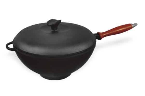 Сковорода чугунная ВОК