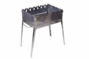 Раскладной мангал 6 шампуров Smoke House Ч-1