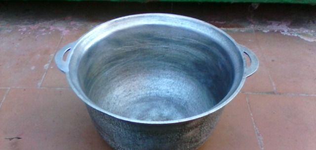 Как очистить алюминиевый казан от потемнения
