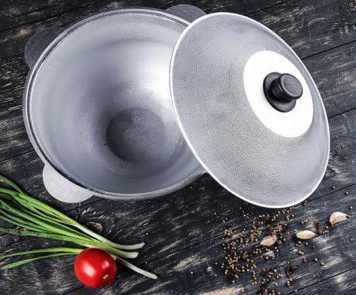 Как отмыть алюминиевый казан