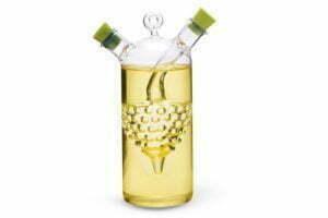 Бутылка 50/320 мл Fissman для масла и уксуса 2-в-1 стекло купить дешево