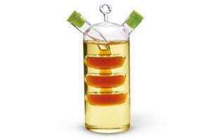 Бутылка 50/350 мл Fissman для масла и уксуса 2-в-1 стекло низкая цена