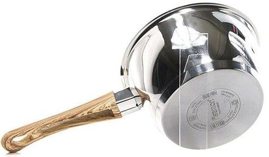 Ковш из нержавейки Fissman Nuovo 1,6 л заказать в интернет магазине