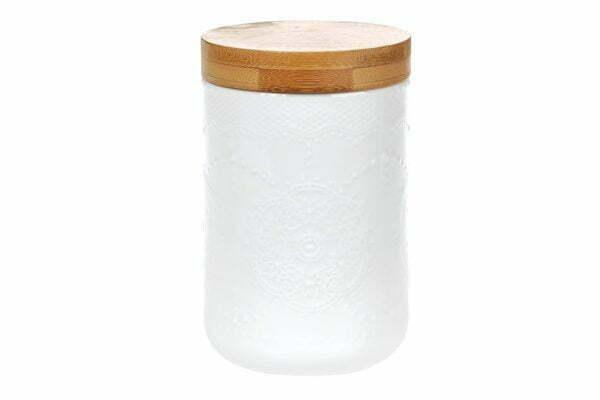Банка для сыпучих продуктов с бамбуковой крышкой Naturel 500 мл 289-314