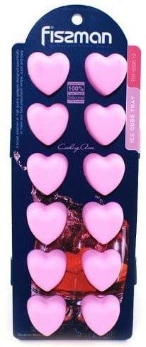 Форма для льда и шоколада Fissman 22x9x2.5 см Сердечки купить недорого