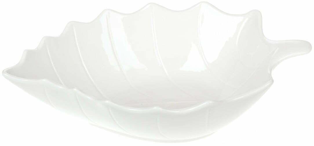 Салатник фарфоровый Лист BonaDi 1,9 л заказать по выгодной цене