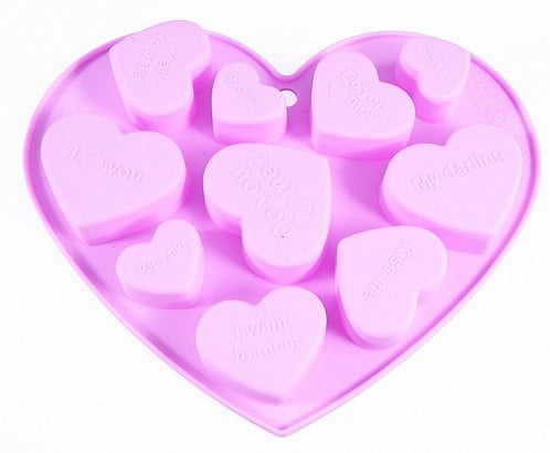 Форма для льда и шоколада Сердечки Fissman купить недорого онлайн