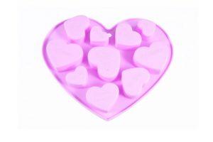 Форма для льда и шоколада Сердечки Fissman 6562