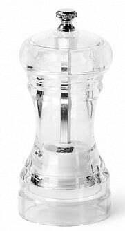 Мельница для соли и перца акриловая Fissman 11х5 см купить недорого онлайн
