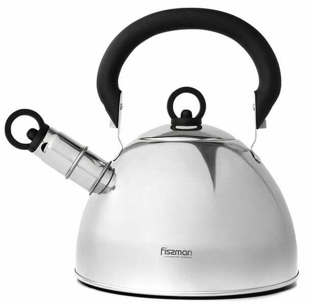 Чайник из нержавеющей стали Fissman Gemma 1,8 л купить недорого нлайн