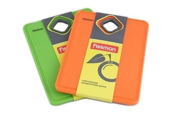 Доска пластиковая разделочная 19х14 см Fissman 7705