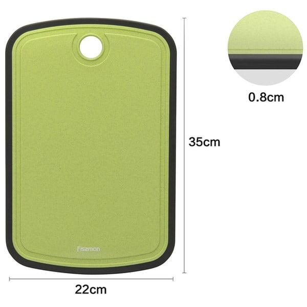 Доска разделочная из пластика 35x22 см Fissman 8023 низкая цена
