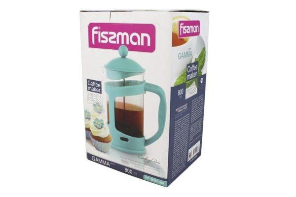 Заварочный чайник с френч-прессом Fissman Gamma 800 мл