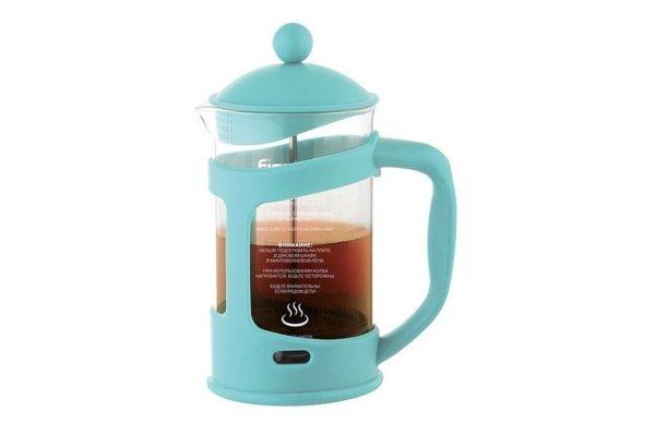 Заварочный чайник с френч-прессом Fissman Gamma 0,8 л