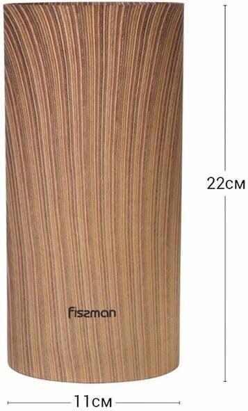 Подставка для ножей и ножнец 22 см Fissman 2880 фото и характеристика