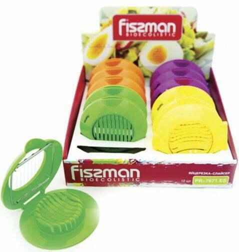 Яйцерезка-слайсер Fissman 15х15 см 7671 купить недорого онлайн
