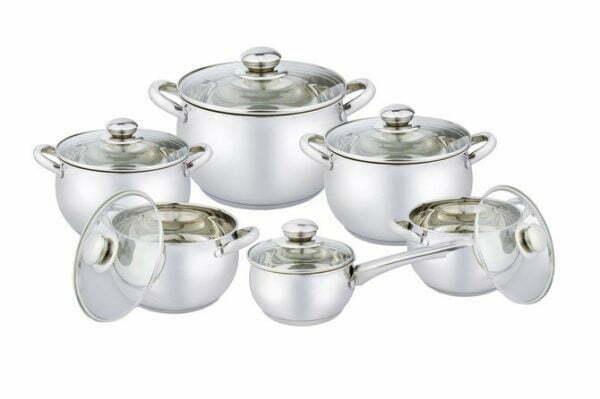 Набор посуды нержавеющая сталь Vincent VC-3033