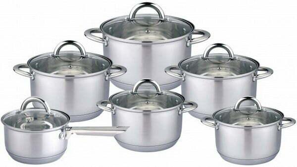Набор Vincent посуды из нержавеющей стали VC-3034 купить недорого онлайн