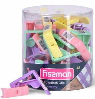 Зажим для скатерти Fissman 5х5 см PR-7589.CL купить недорого онлайн