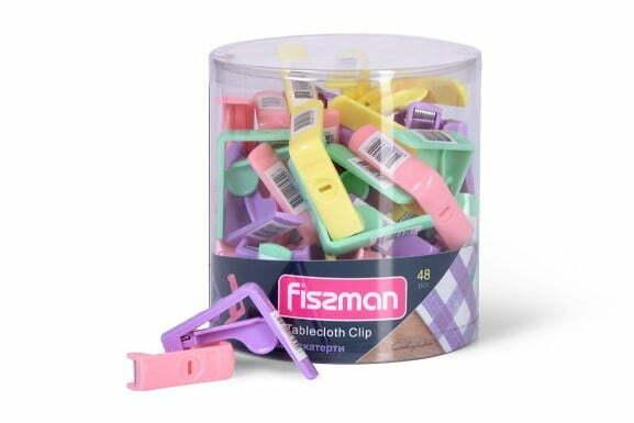 Зажим для скатерти Fissman 5х5 см