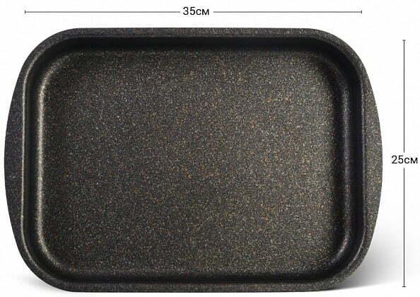 Форма для выпечки Fissman антипригарная 35x25x6 см 14202 доставка по всей Украине