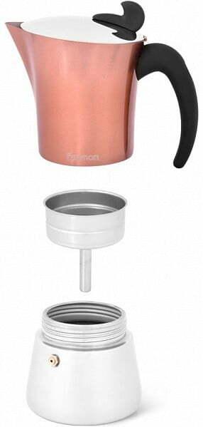 Кофеварка Fissman гейзерная на 6 порций 360 мл 3317 купить в Киеве