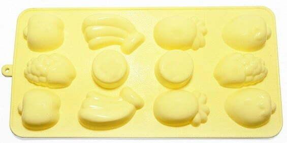 Силиконовая форма для льда и шоколада Fissman Фрукты 6547 купить недорого онлайн