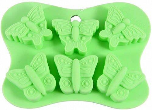 Форма для льда и шоколада Бабочки Fissman 6558 купить недорого онлайн