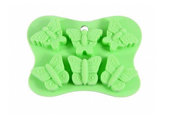Форма для льда и шоколада Бабочки Fissman 6558