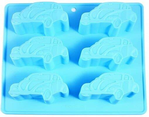 Форма для выпекания кексов Fissman Машины 20х22 см 6544 купить недорого онлайн