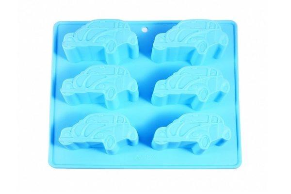 Форма для выпекания кексов Fissman Машины 20х22 см 6544