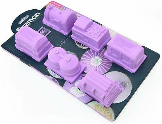 Силиконовая форма для выпекания кексов Fissman 30x17x5 см 6738 купить недорого онлайн