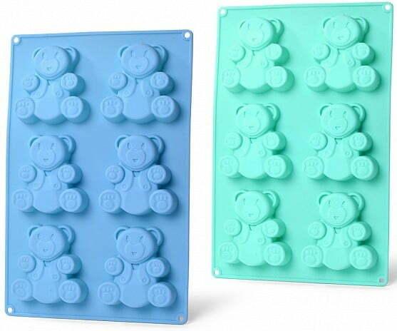 Форма для кексов Fissman 26x17x1,8 см медвежонок 6658 купить недорого онлайн