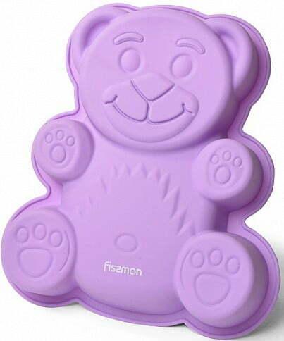 Силиконовая форма Медвежонок для выпечки Fissman 22x19x3 см 6736 купить недорого онлайн