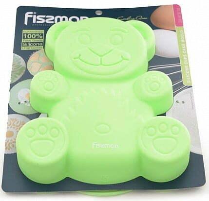 Форма для выпечки Fissman Медвежонок 22x19x3 см 6737 купить недорого онлайн