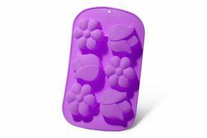 Форма для выпечки 26,5x17x3 см Fissman фиолетовая