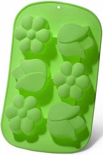 Форма для выпечки 6 кексов Fissman Цветы 26,5x17x3 см 6651 купить недорого онлайн
