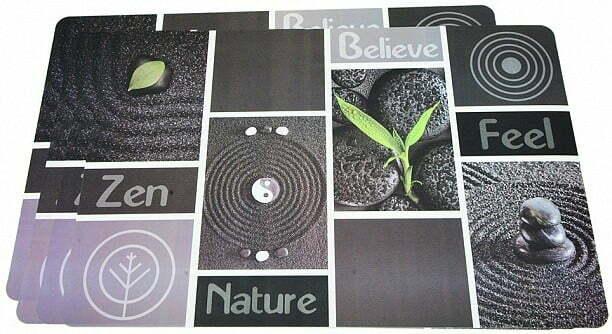 Комплект из 4 Fissman сервировочных ковриков 43,5x28,5 см 0653 купить недорого онлайн