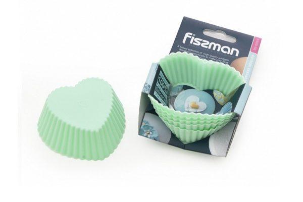 Набор формочек для кексов 6 шт Fissman 7x3,3 см купить