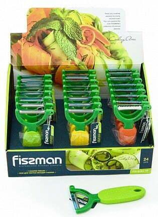 Овощечистка Y-формы Fissman 14 см 8484 купить недорого онлайн