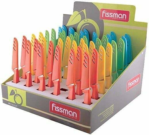 Овощной нож в чехле Fissman 20,5 см 7015 купить недорого онлайн